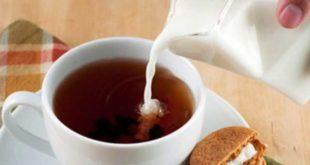 Чай с молоком