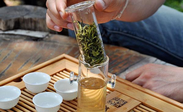Как зимой заварить чай